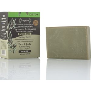 Green clay soap for oily skin 120-140gr < Cleansing & Tonification