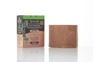 Pink clay soap for sensitive skin 120-140gr < Natural Soap
