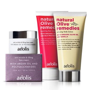 Aeolis set for face, hair & body 50ml+170ml+170ml < Gift Set