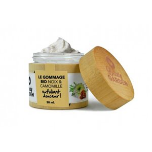 Organic exfoliant with walnut & chamomile 50ml < Peeling & Scrub
