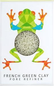 Konjac mini pore refiner rainforest tree frog < Bath amenities
