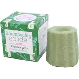 Solid Shampoo for Oily Hair 55gr < SLES/SLS Free shampoo