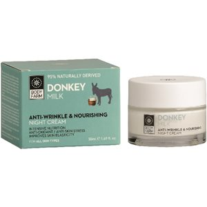 DONKEY MILK ANTI-WRINKLE NIGHT FACE CREAM 50ml < Face cream & Balm