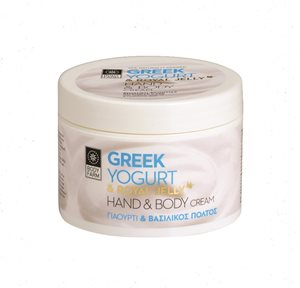GREEK YOGURT HAND & BODY CREAM 200ml < Body cream & Butter