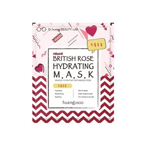 British Rose Hydrating Mask 5x25ml < Face mask