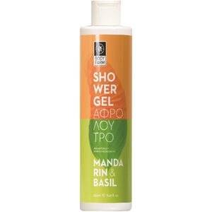 MANDARIN-BASIL SHOWER GEL 250ml < Shower gel