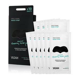 Cleansing Charcoal Nose Mask Pack 10items < Face mask