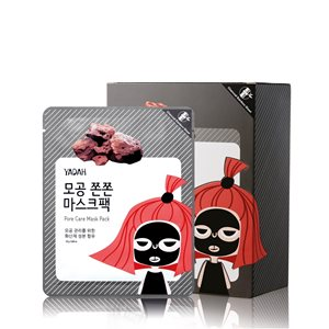 Pore care face mask 12x28gr < Face mask