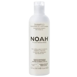 Regenerating Shampoo for dry, overworked & treated hair 250ml < SLES/SLS Free shampoo