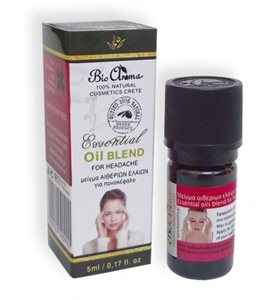 Essential oils blend for headache 5ml < Cold & pain treatment