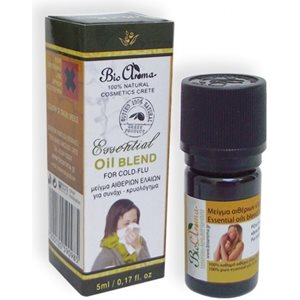 Essential oil blend for colds 5ml < Cold & pain treatment