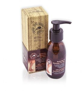 Relaxing massage oil for legs 100ml < Massage oil