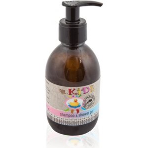 Natural shampoo and shower gel for kids 100ml < Kids care
