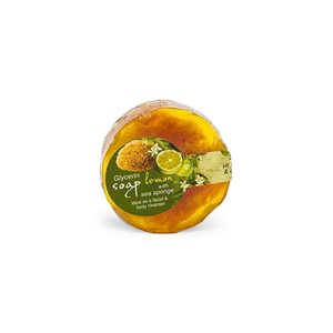 Loofah glycerin soap 100gr < Cleansing & Tonification