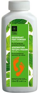 PEPPERMINT DEODORANT FOOT POWDER 125ml < Foot care