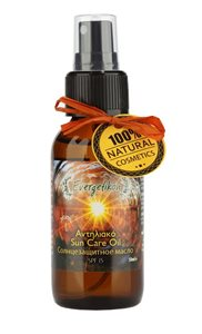 Sun care oil tanning & protection SPF15 50ml < Suncare products
