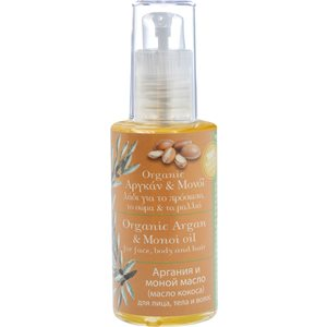 Argan & monoi oil for face, body and hair 60ml < Body oil