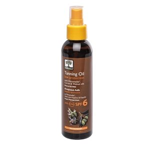 Tanning oil low protection SPF6 150ml < Suncare products