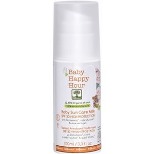 Organic baby sun care milk/ high protection SPF30 100ml < Baby & kids suncare