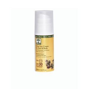 Olive sun cream for face & body SPF30 100ml < Suncare products