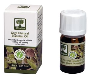 Essential oil sage 5ml < Cold & pain treatment